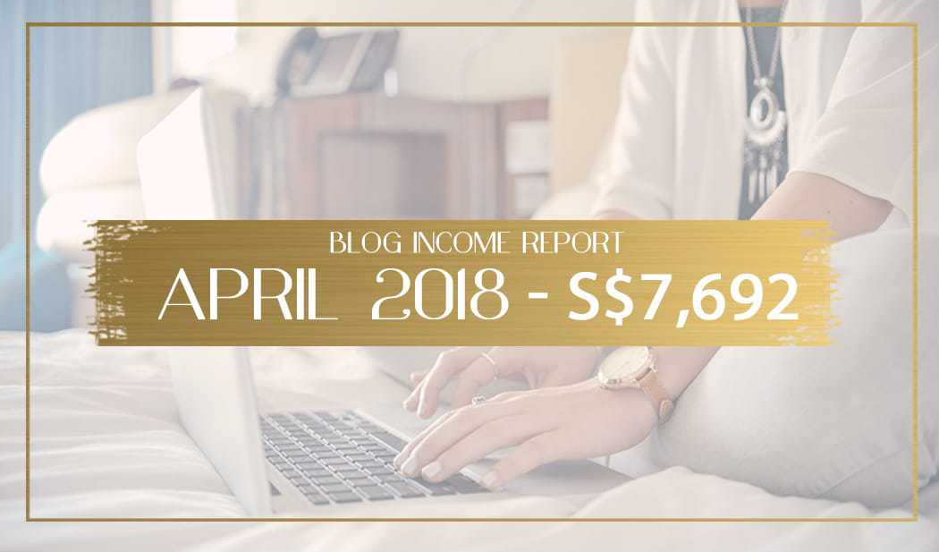 blog income report April 2018 main
