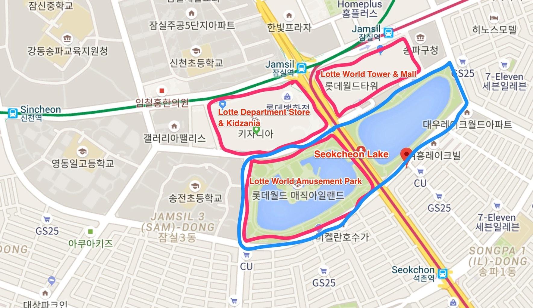Lotte World complex
