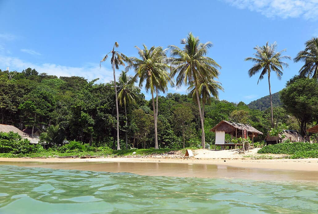 Ao Mai Pai Beach in Koh Lanta