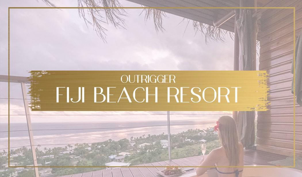 Outrigger Fiji Beach Resort main