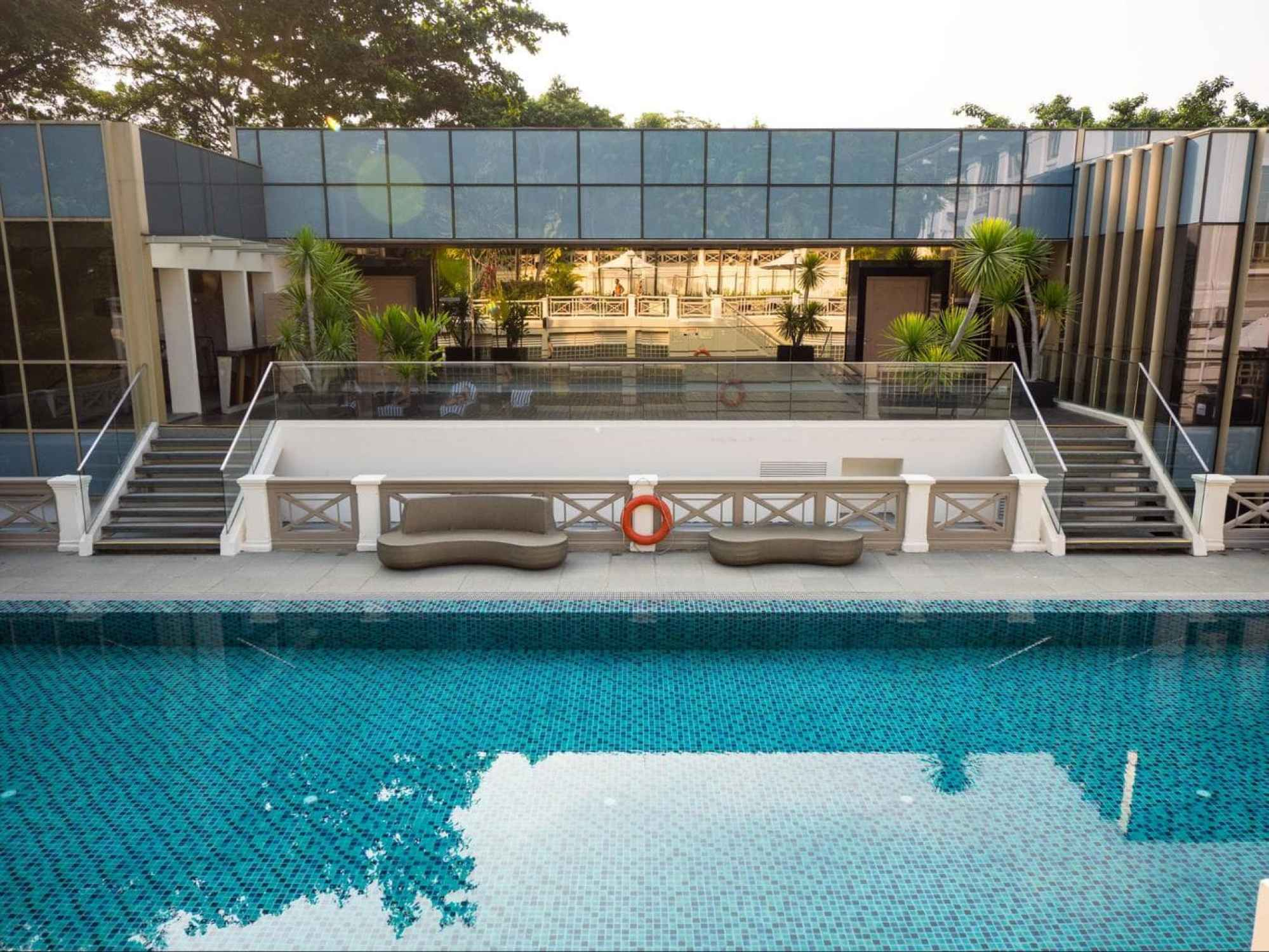 The second pool at Hotel Fort Canning