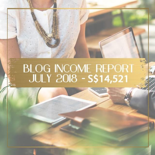 Blog income report for July 2018 feature