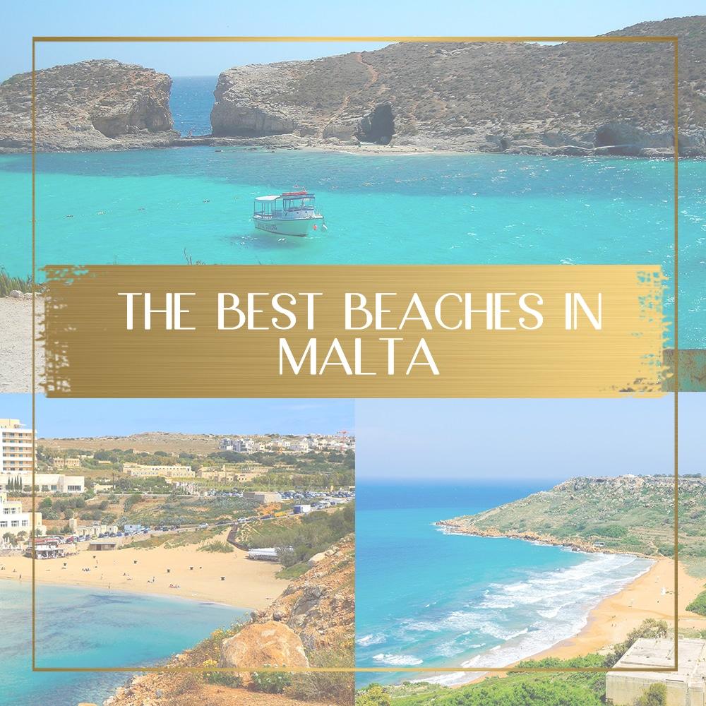 Best beaches in Malta feature