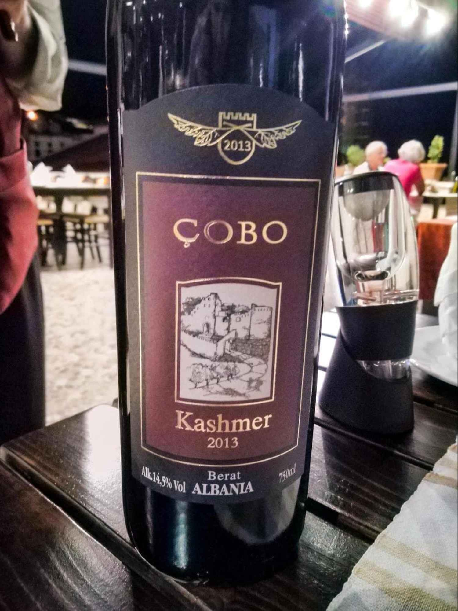 Çobo Winery 2013 Kashmer