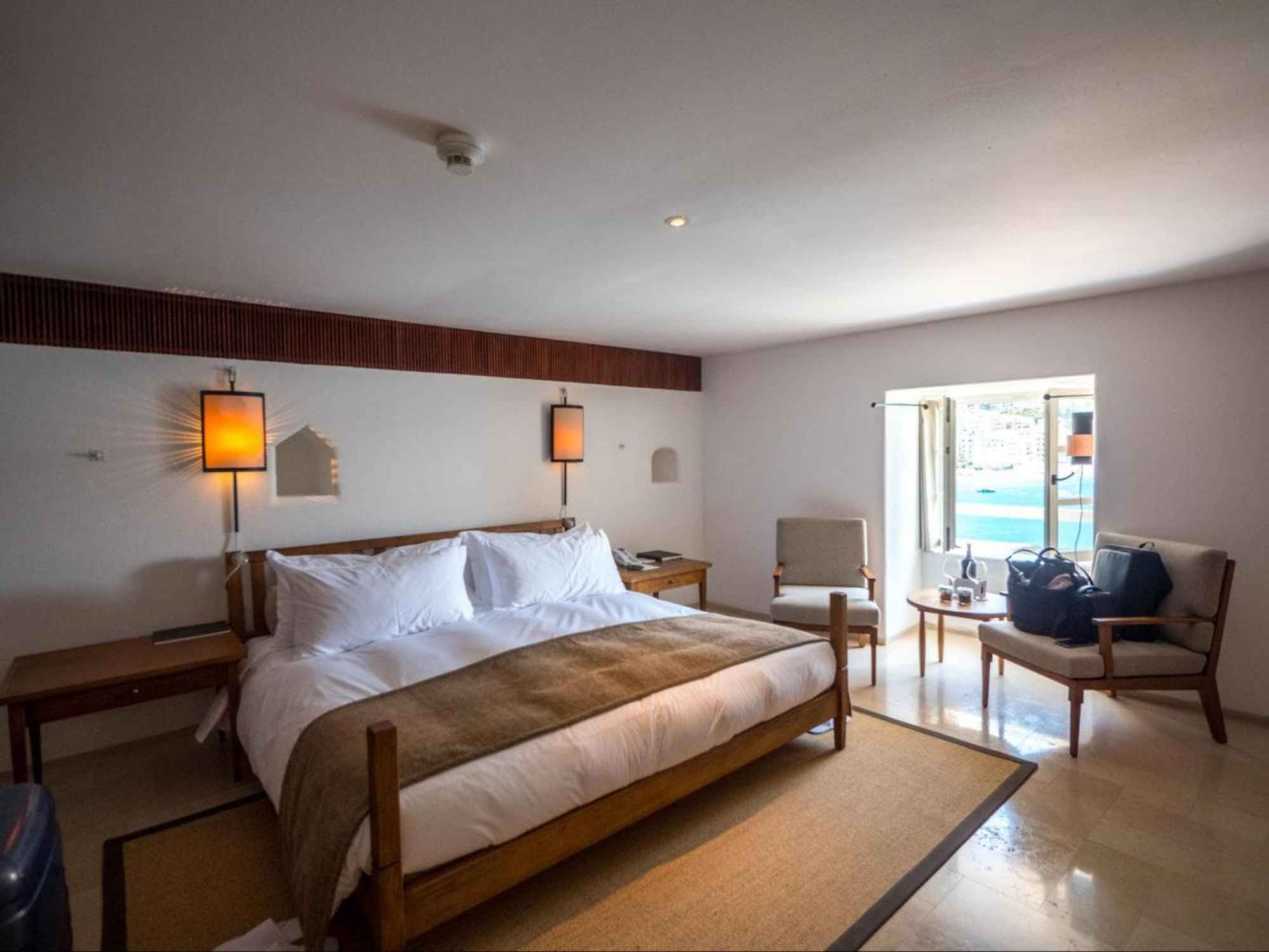 Deluxe cottage rooms at Aman Sveti Stefan