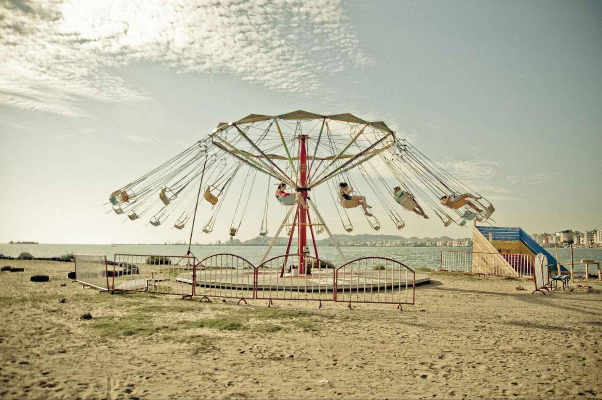 Durres Beach - Photo by Marco Fieber CC BY-ND-NC 2.0