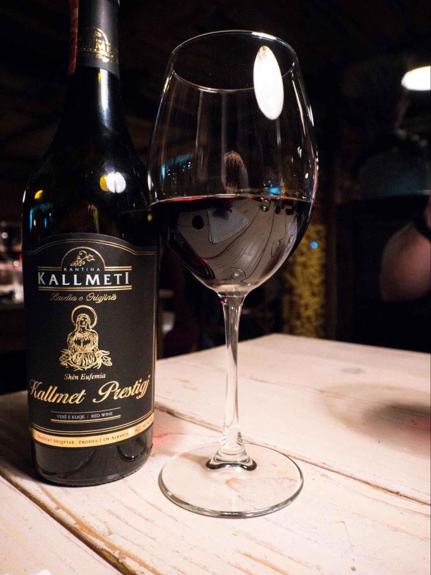 Premium Albanian wine