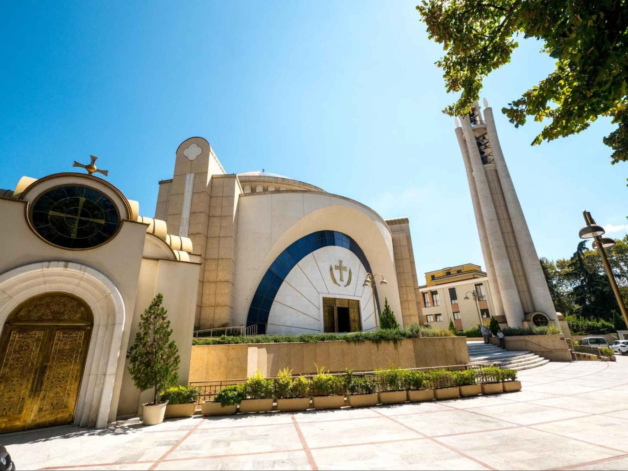 Resurrection of Christ Orthodox Cathedral in Tirana