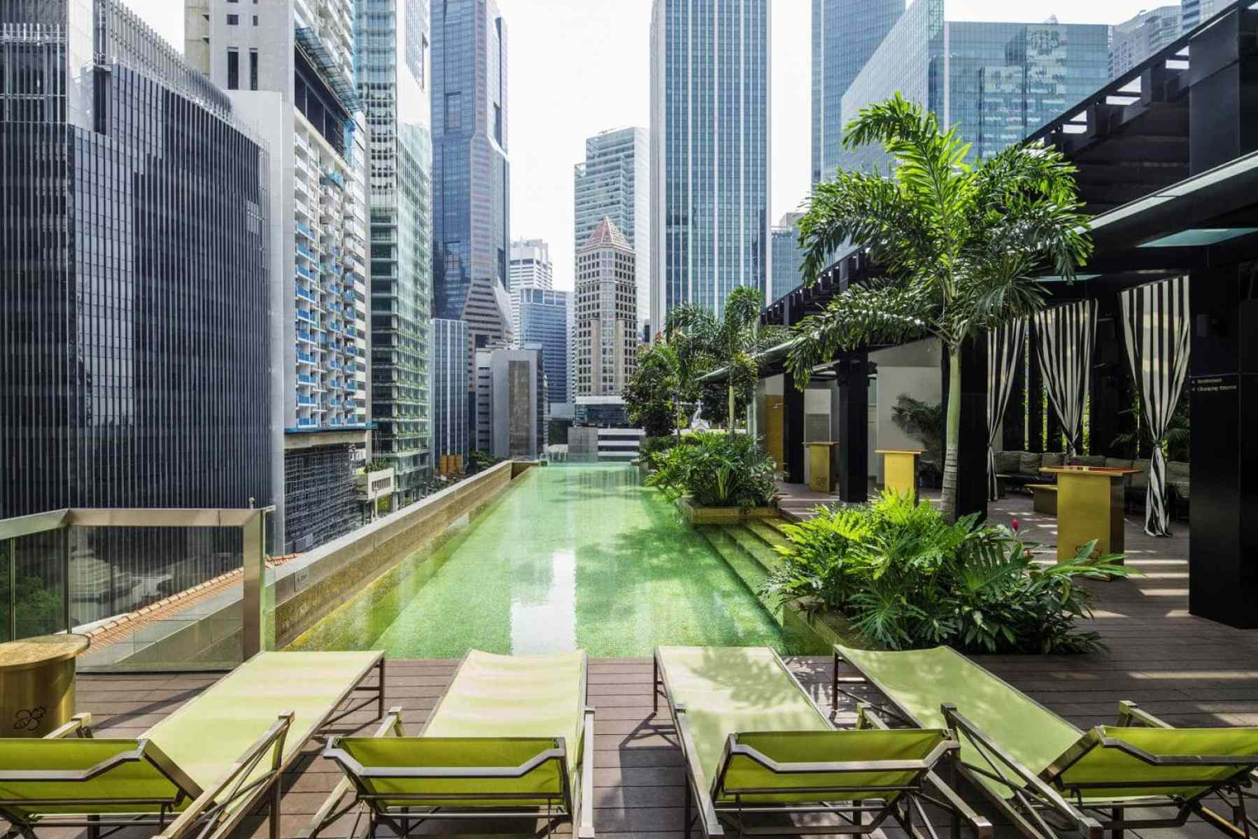SO Sofitel rooftop pool