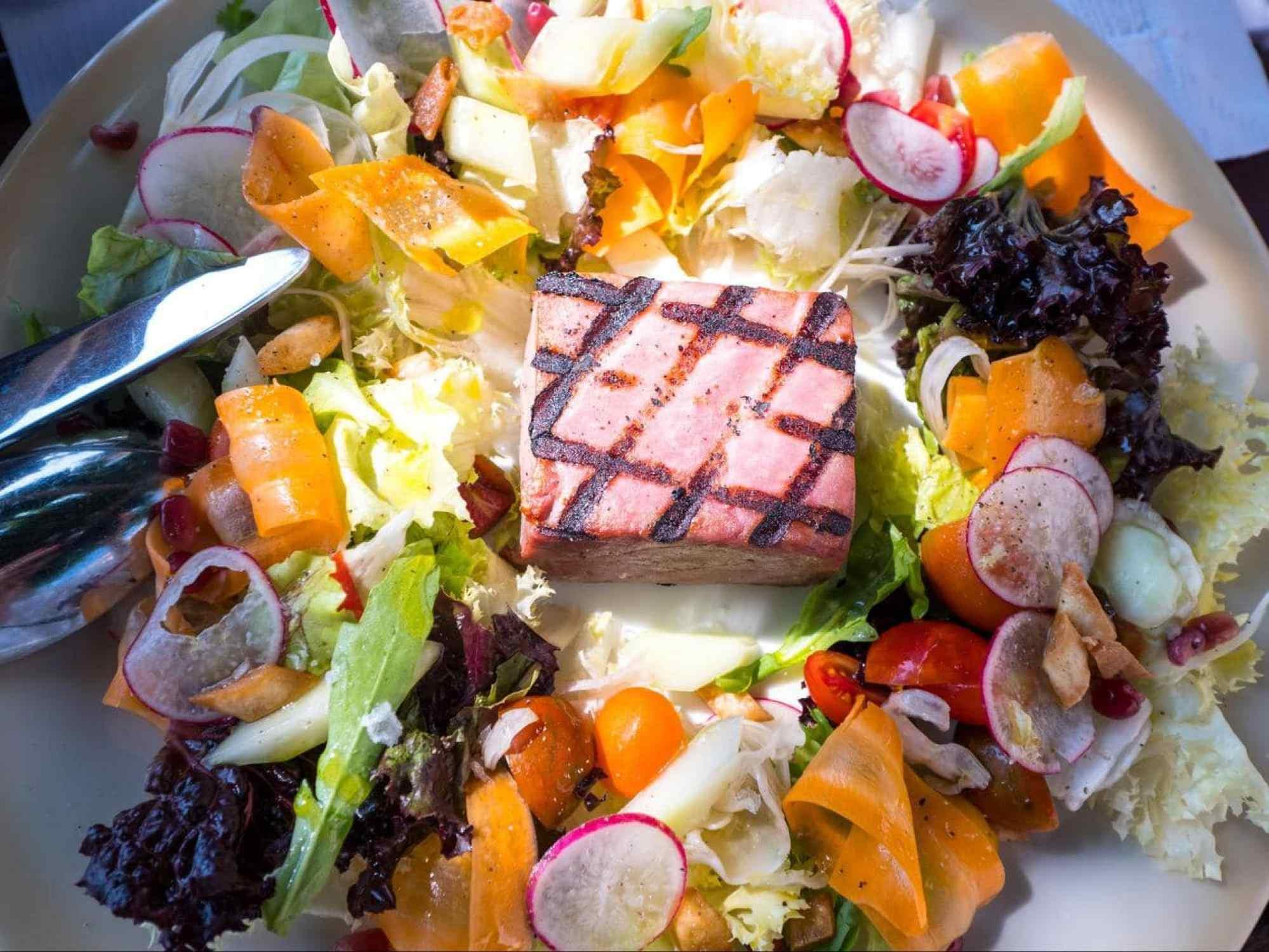 Salads at Loggia 02