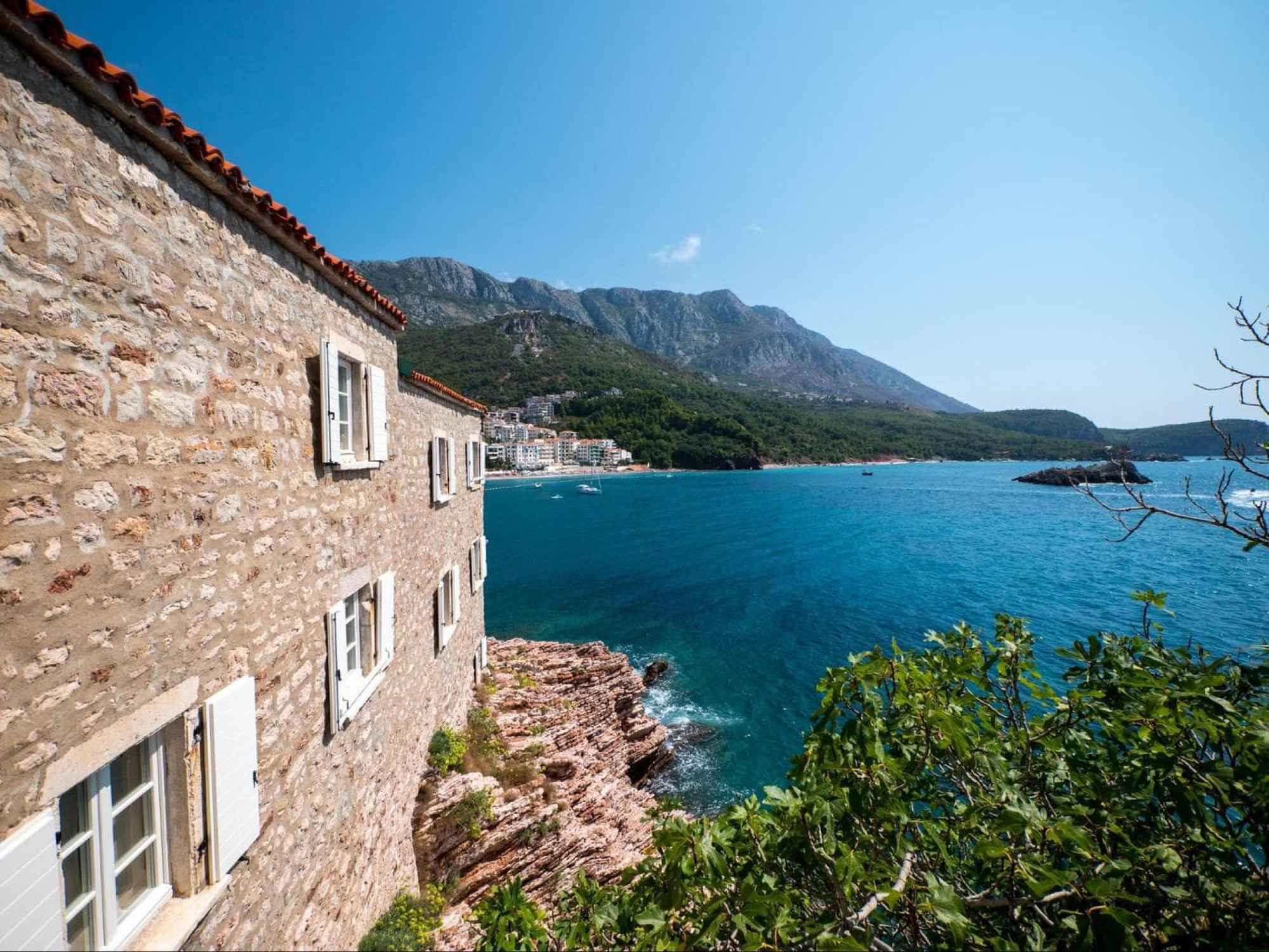 Sea views of Deluxe cottages