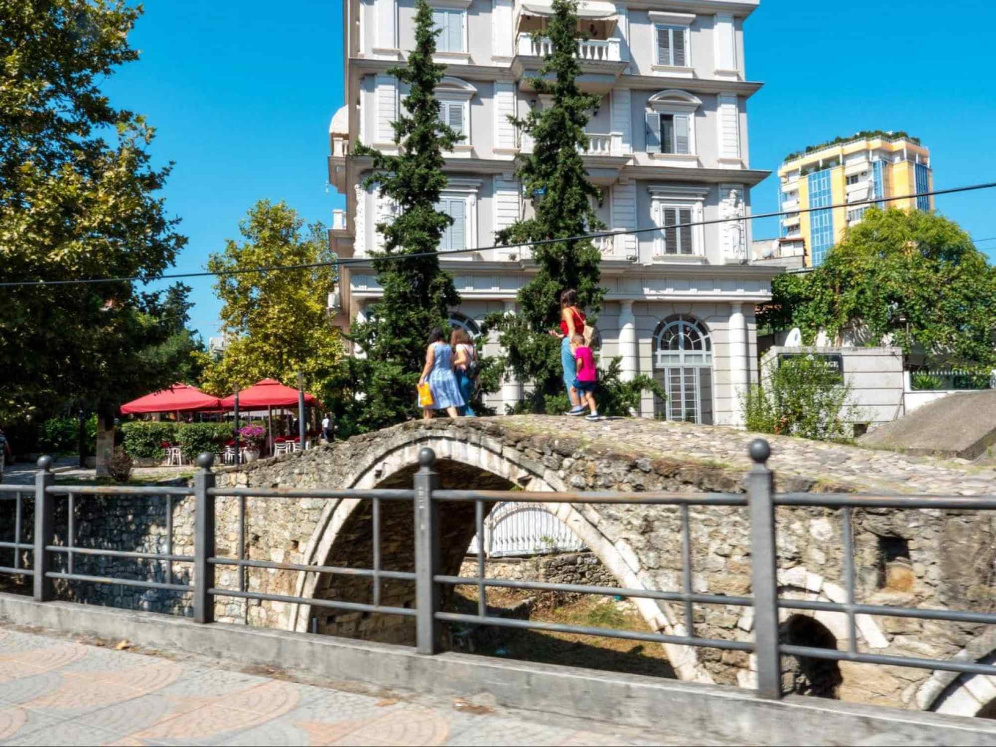 Tanner's bridge in Tirana
