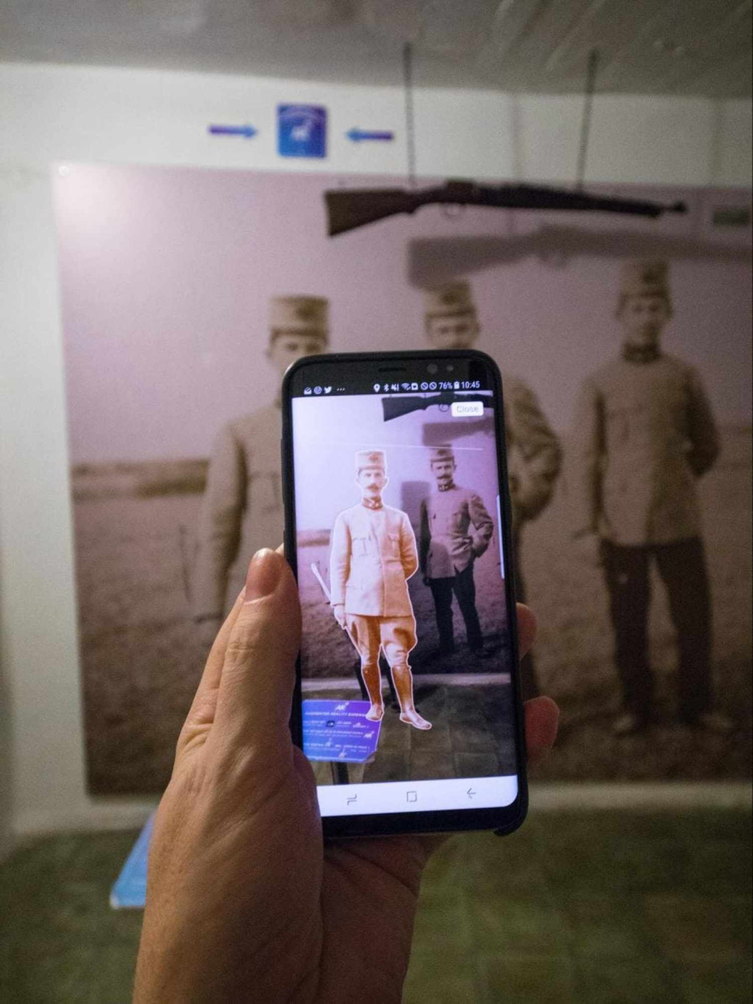 Virtual reality in Bunk'Art 2