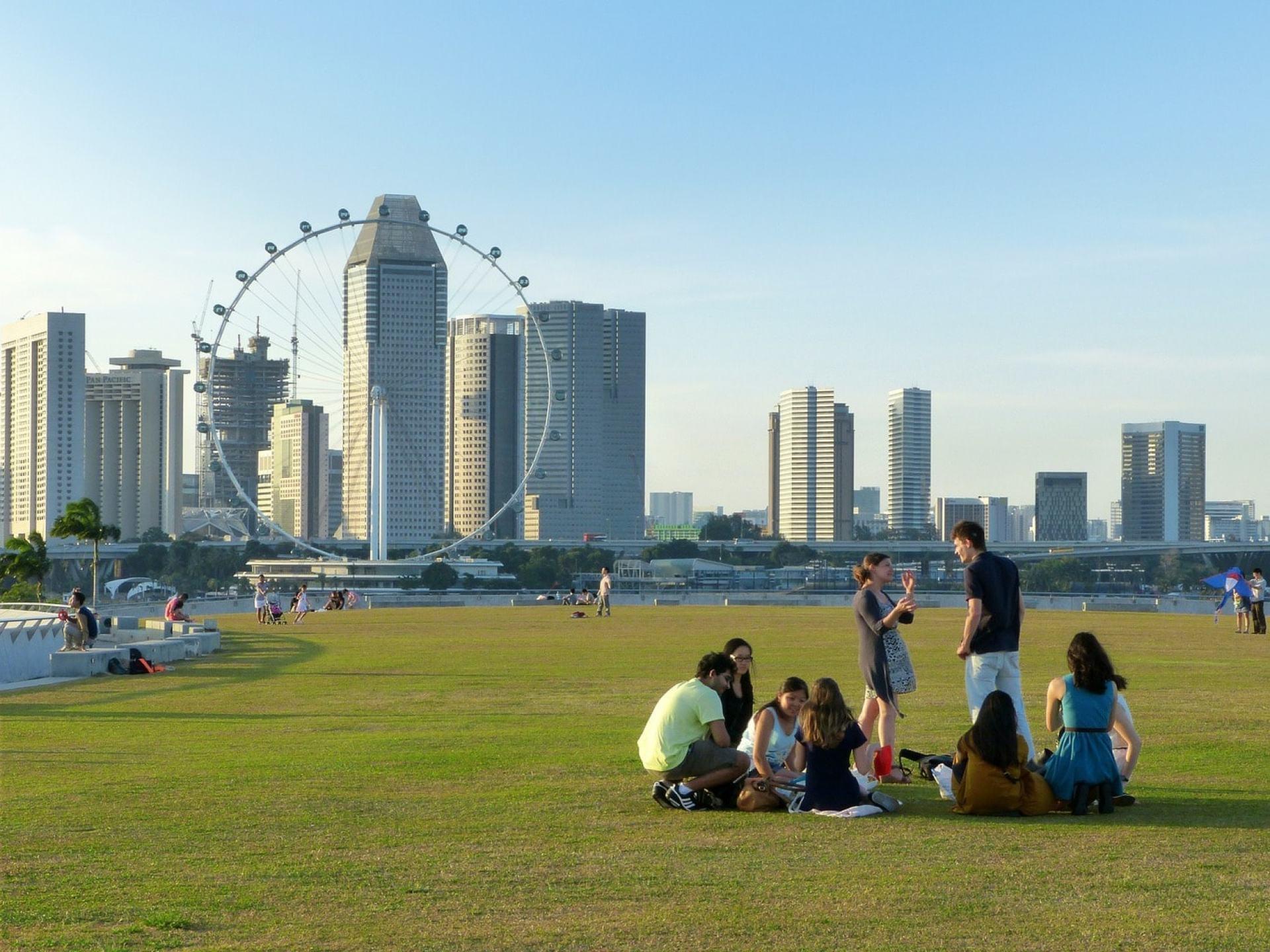 Singapore Marina Barrage Singapore Landmark