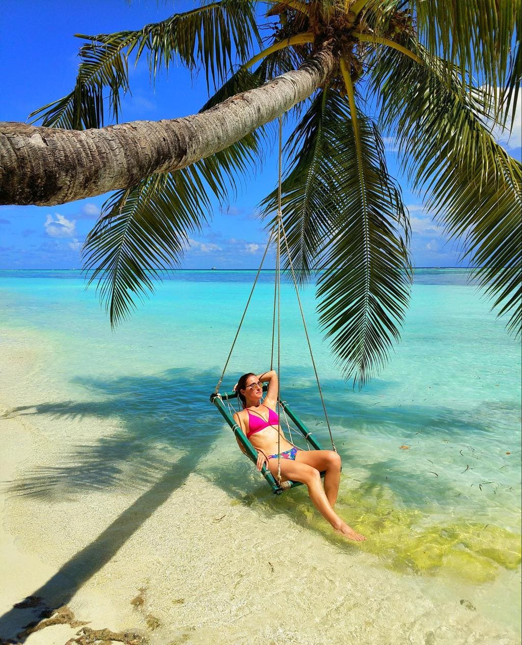 Me in the Maldives