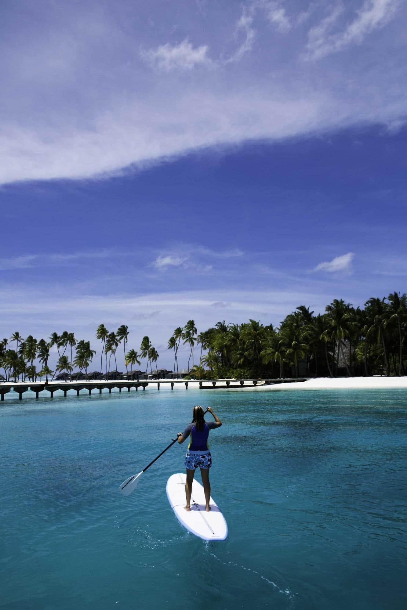 Stand-up paddle board at Gili Lankanfushi - Courtesy of Gili Lankanfushi