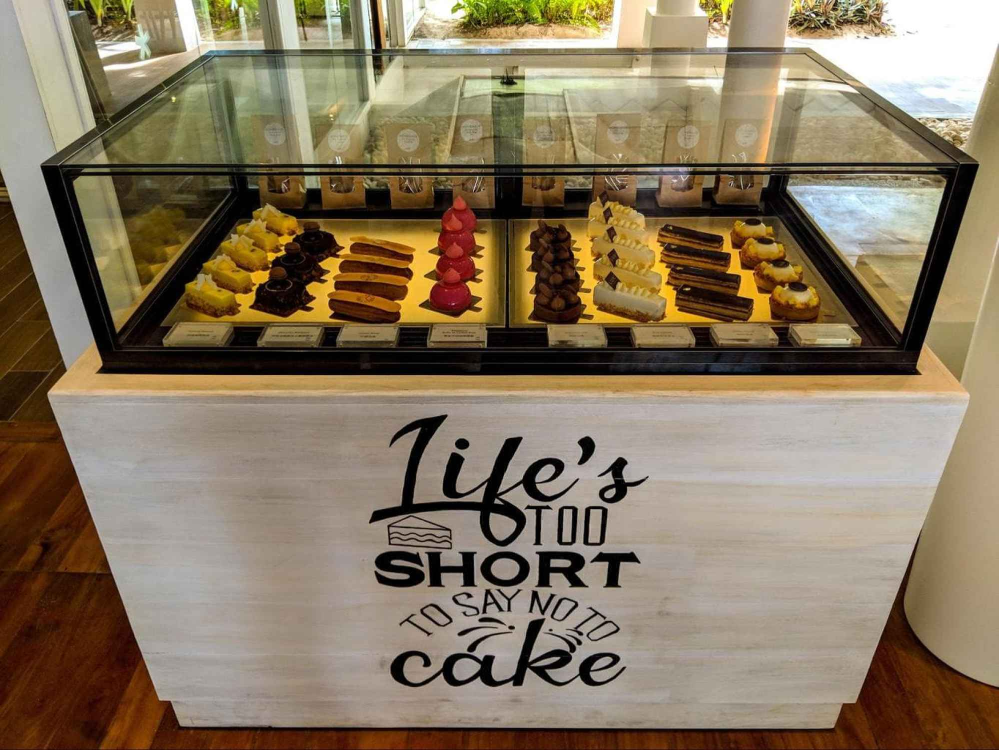 Sweet treats at LUX* Cafe Maldives