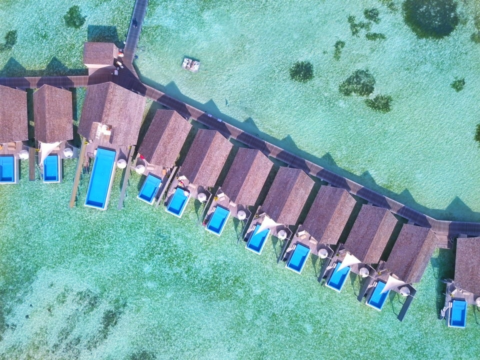The Temptation Pool Water Villa at LUX*