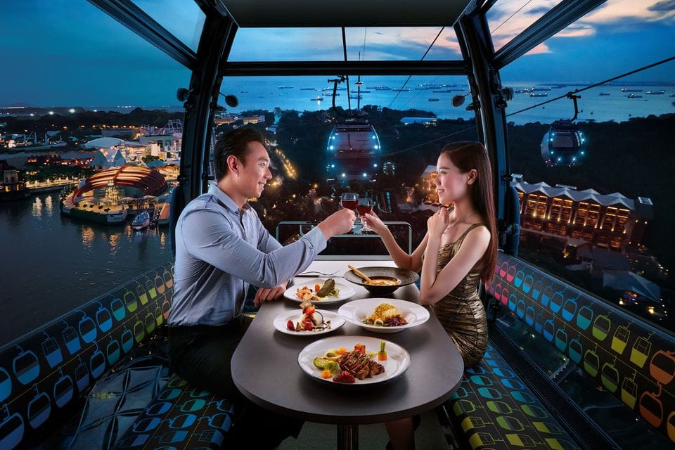 """""""Singapore Cable Car dinner"""""""
