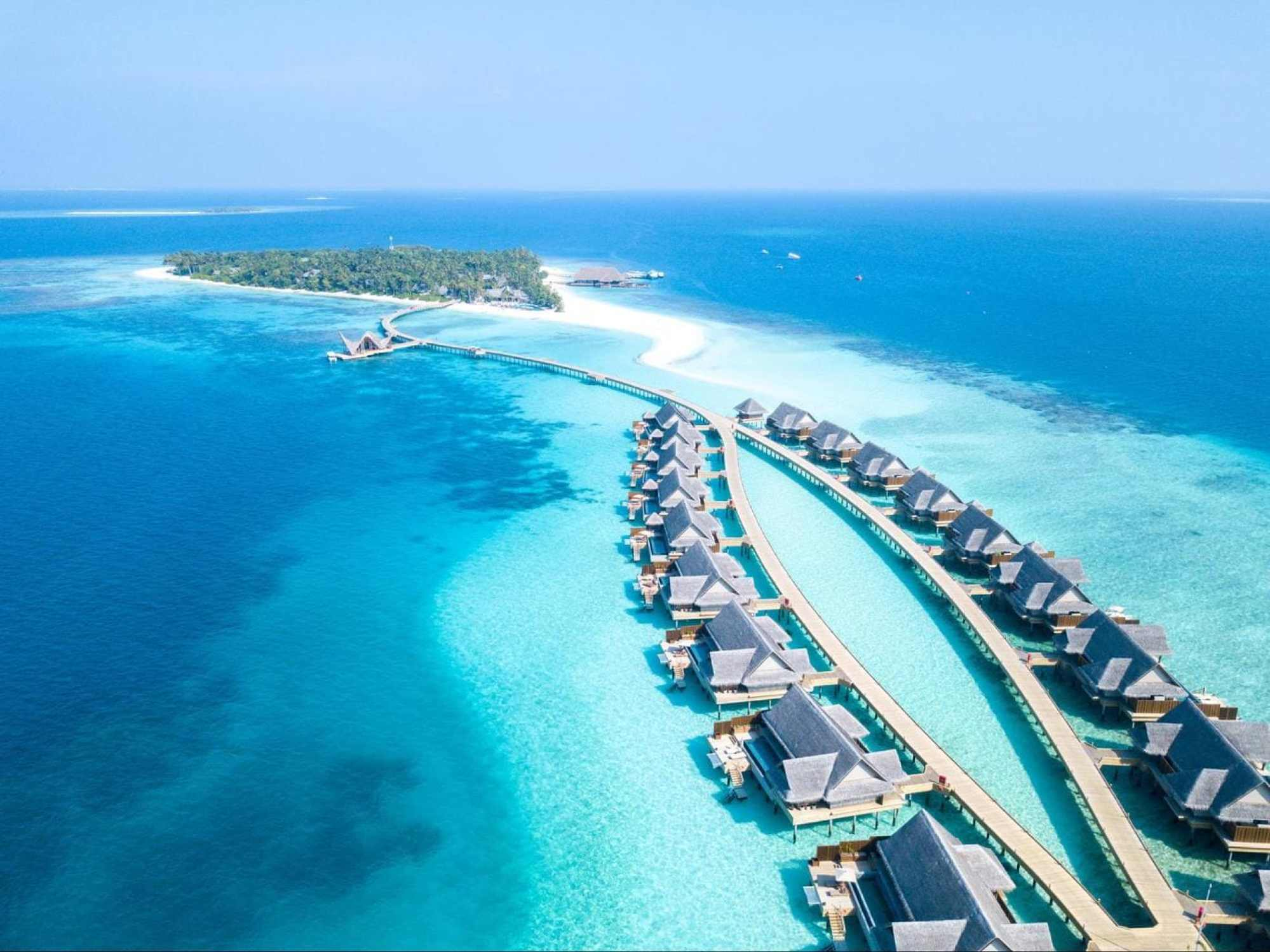 Joali over water villas