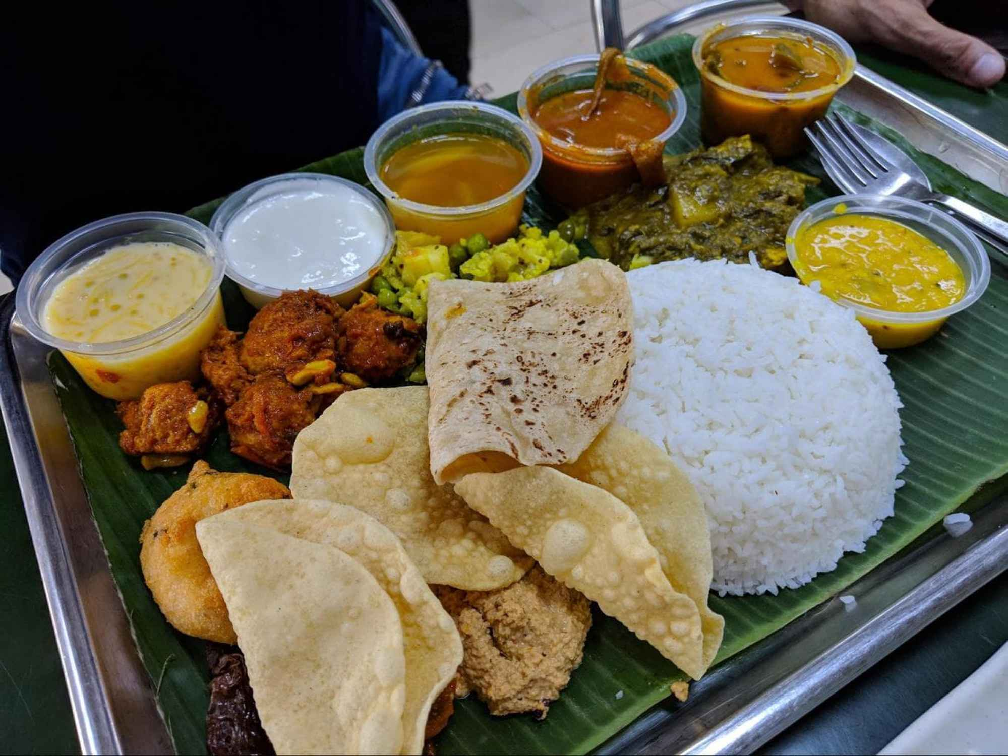 Ananda Bhavan food