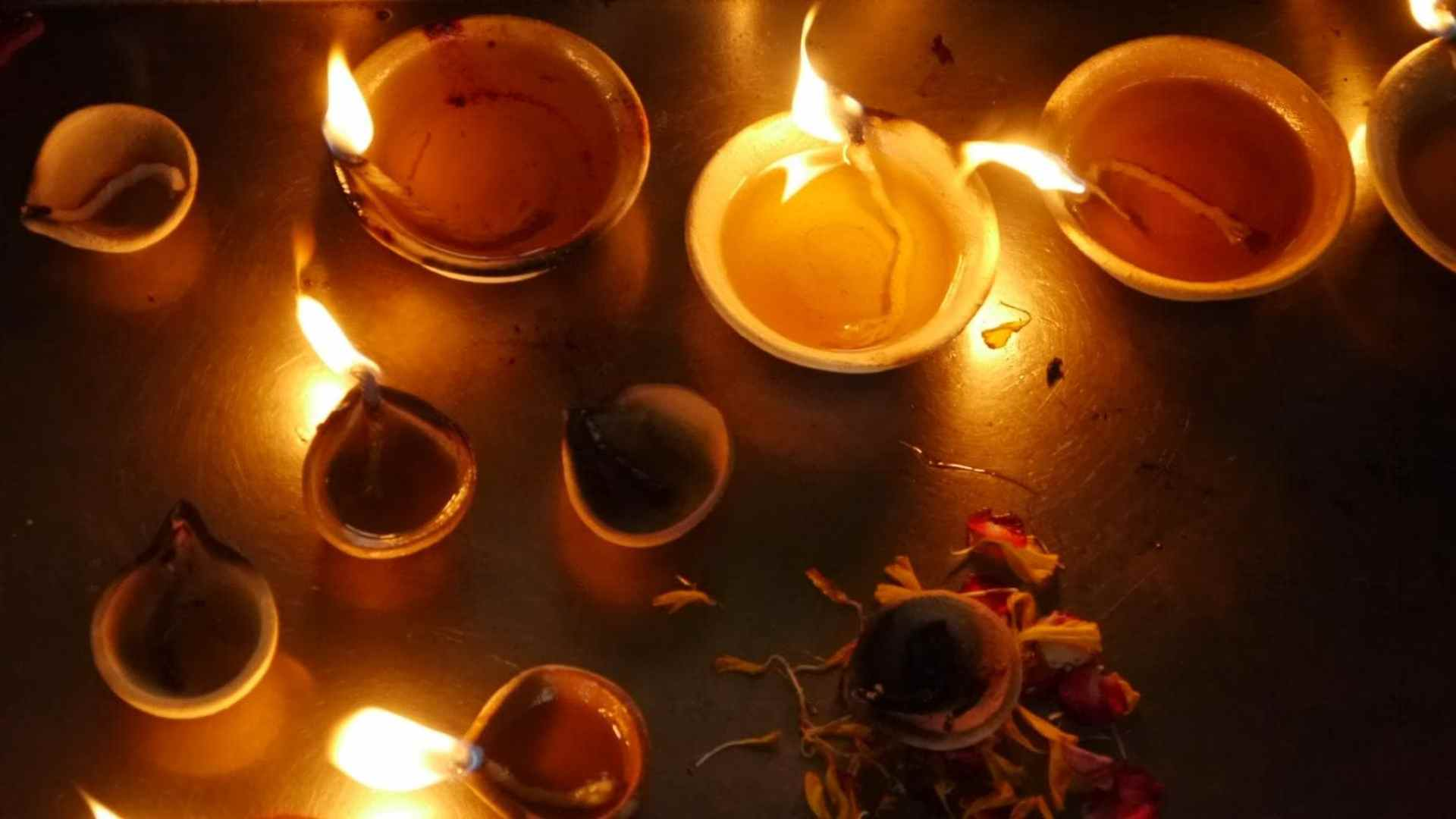 Candles in Little India Singapore