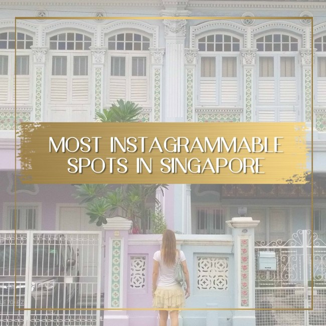 Most Instagrammable spots in Singapore feature