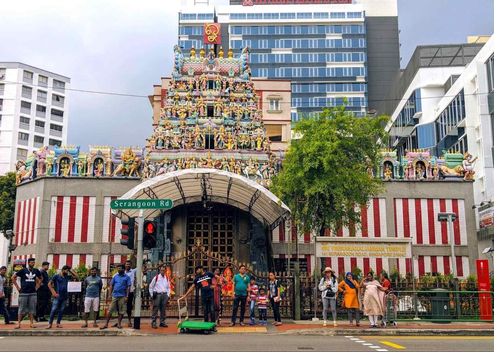 Sri Veeramakaliamman Temple exterior