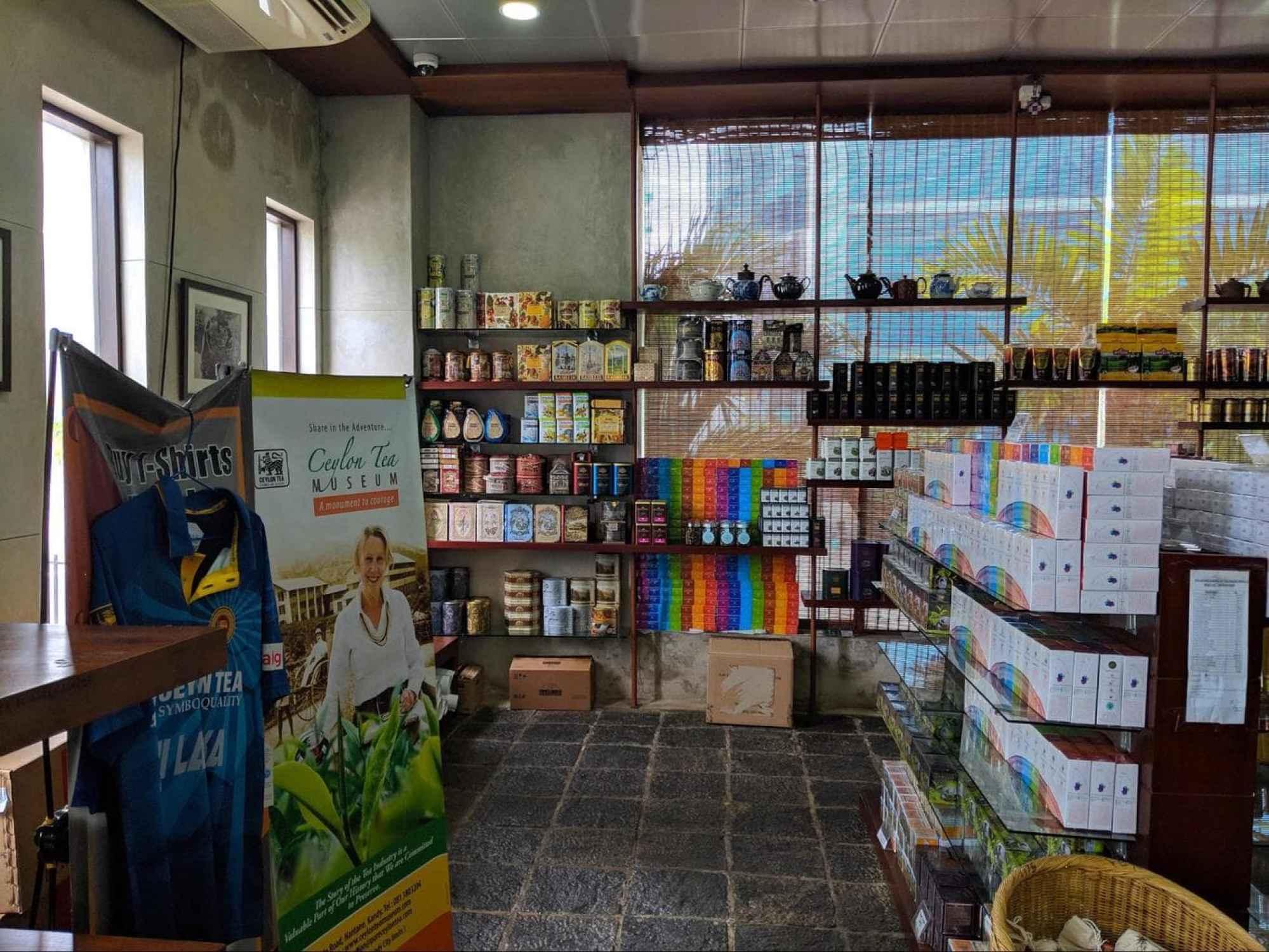 Buy tea from all over Sri Lanka