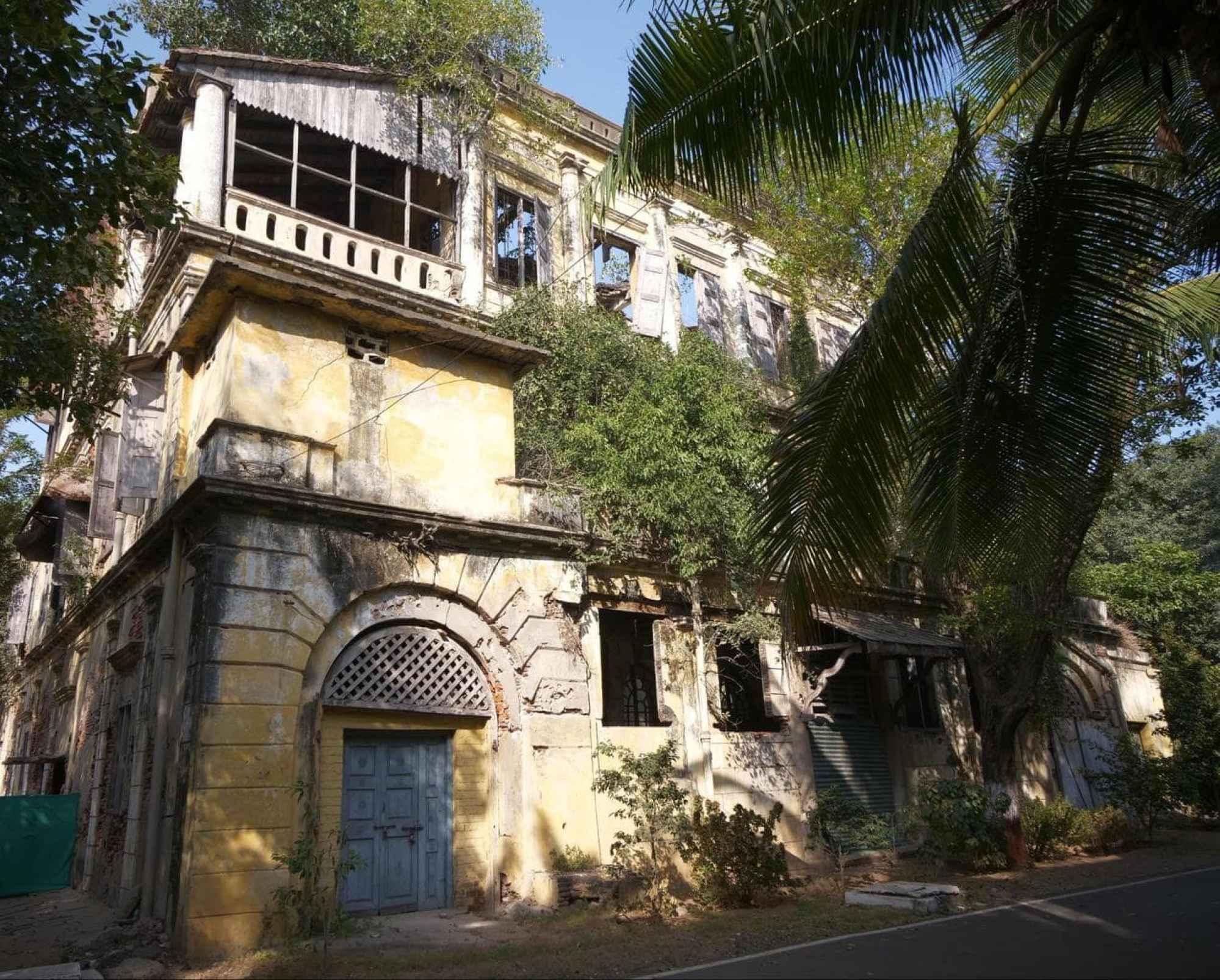 Fort St. George abandoned building