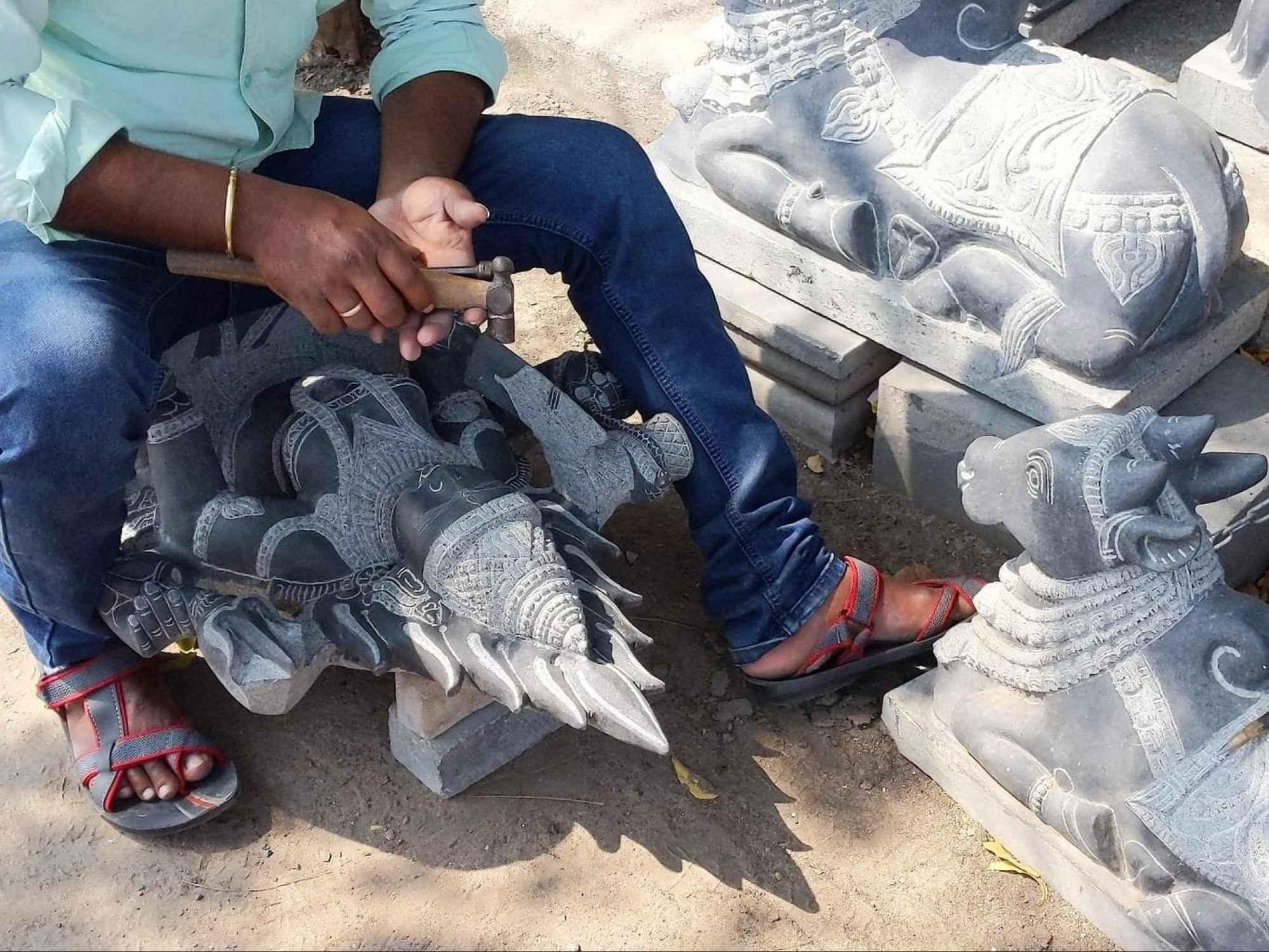Ganga Arts sculpting