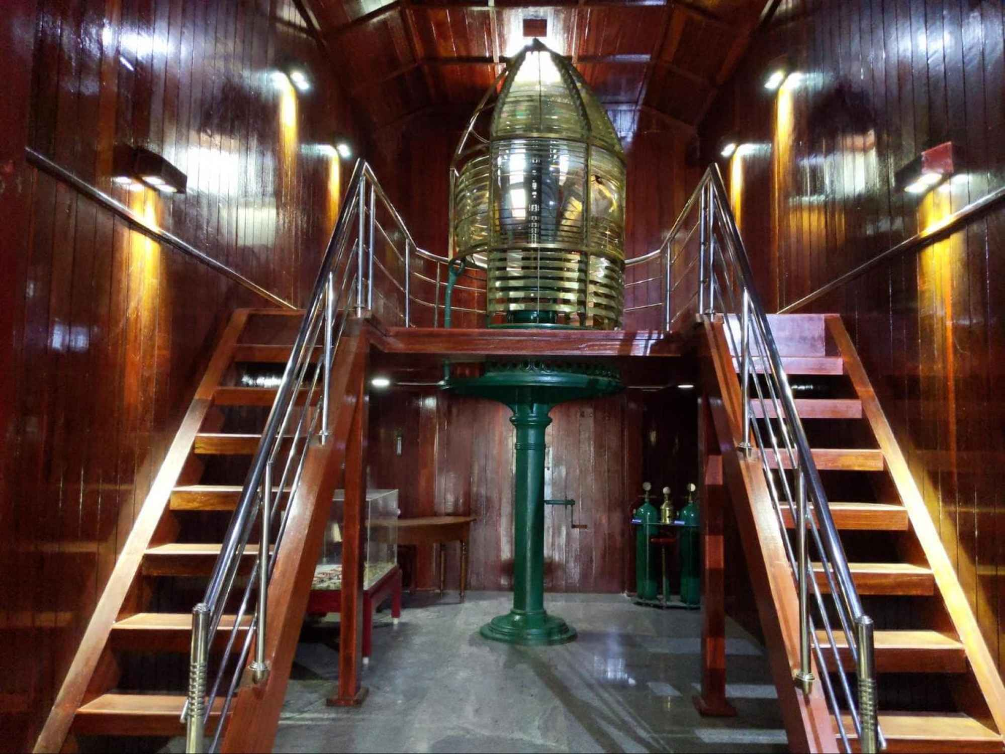 Heritage Maritime Museum interior