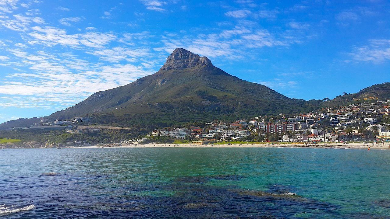 Lion's Head from Camps Bay beach