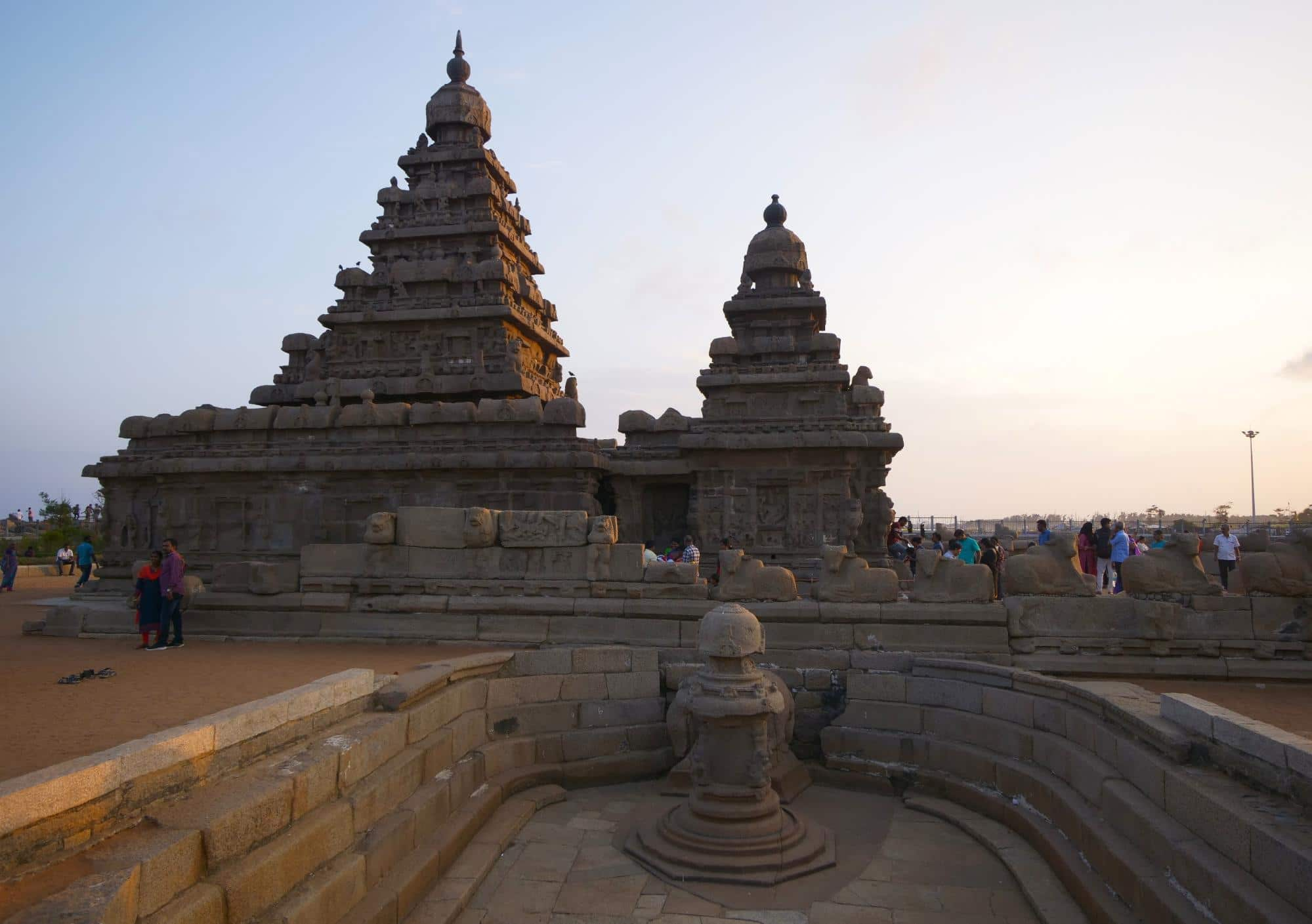 Shore Temple from afar