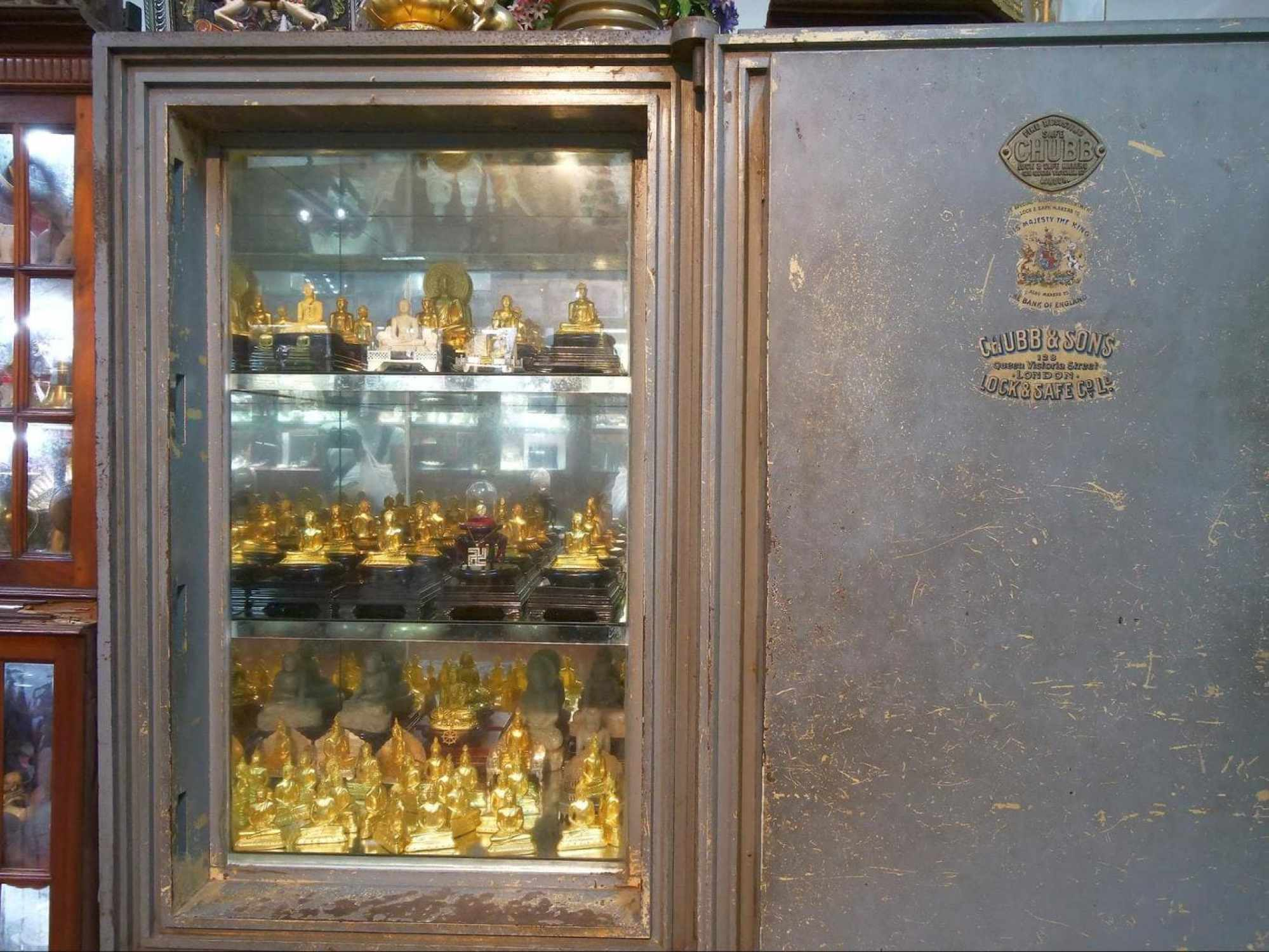 Some of the donations to Gangaramaya Temple