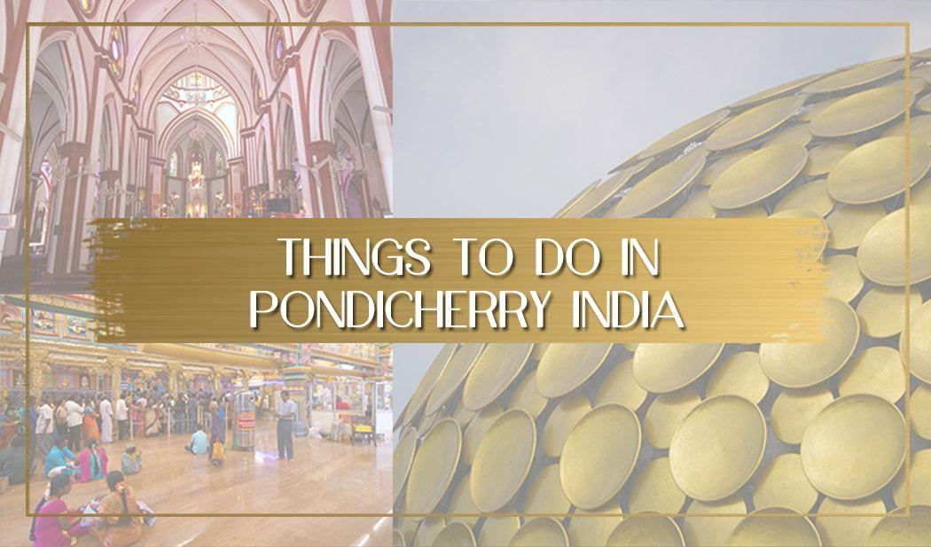Things to do in Pondicherry main