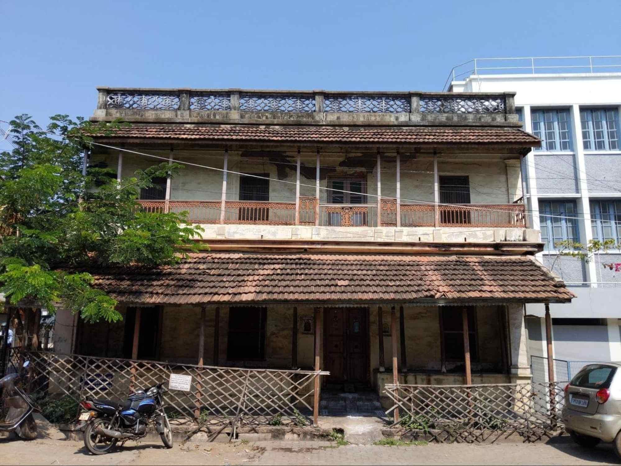 Typical Tamil Quarter architecture