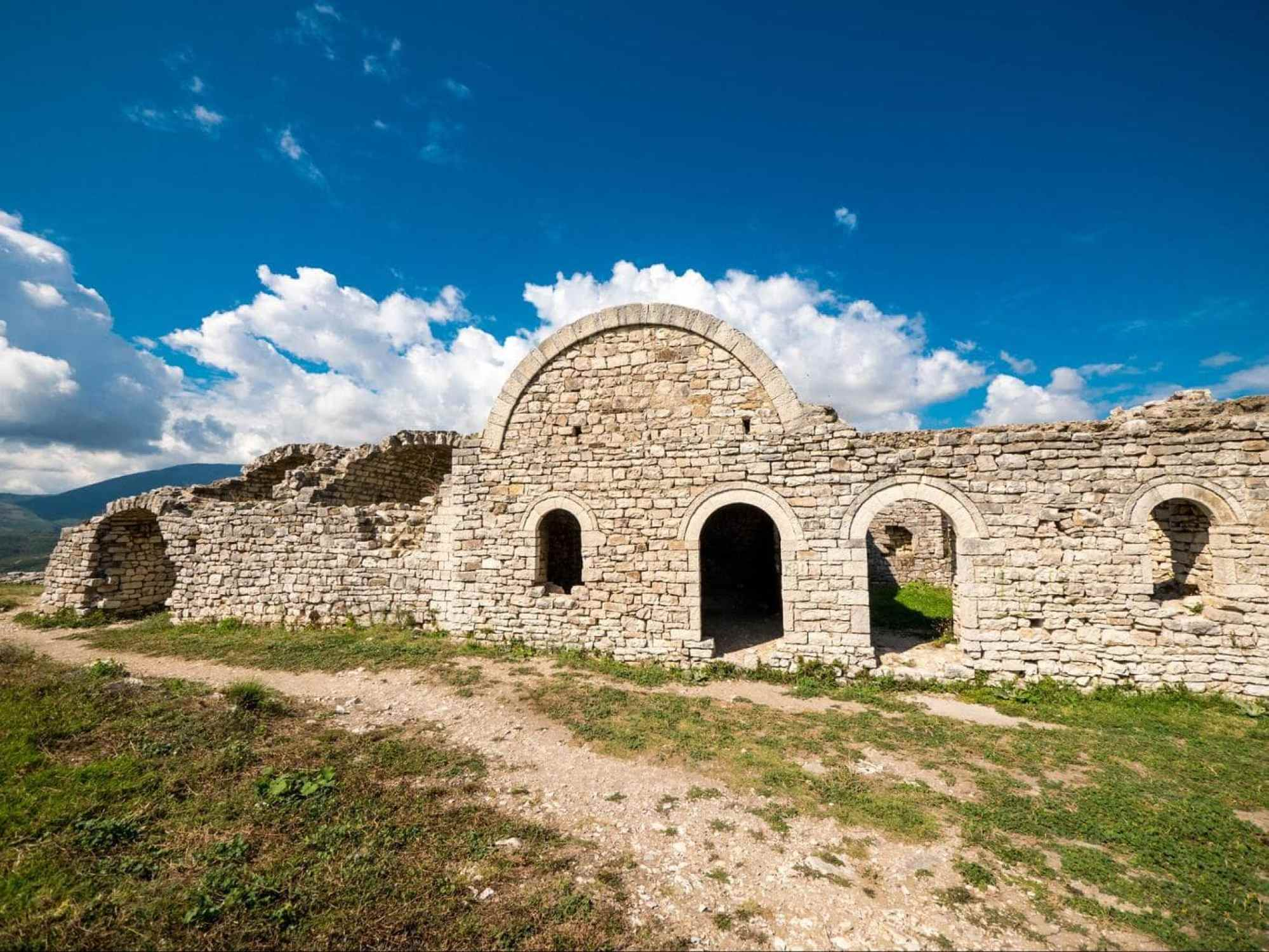 Berat Castle citadel
