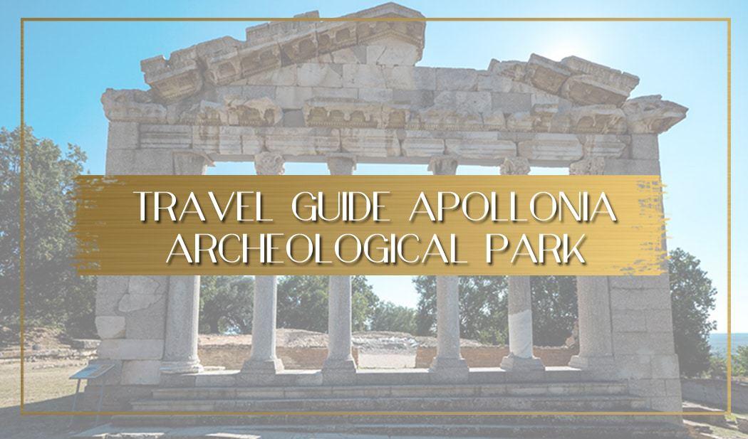 Guide to Archeological Park of Appolonia Albania main
