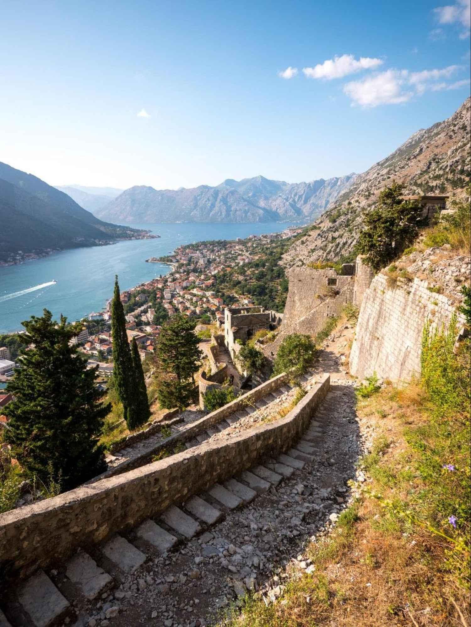 Kotor hills