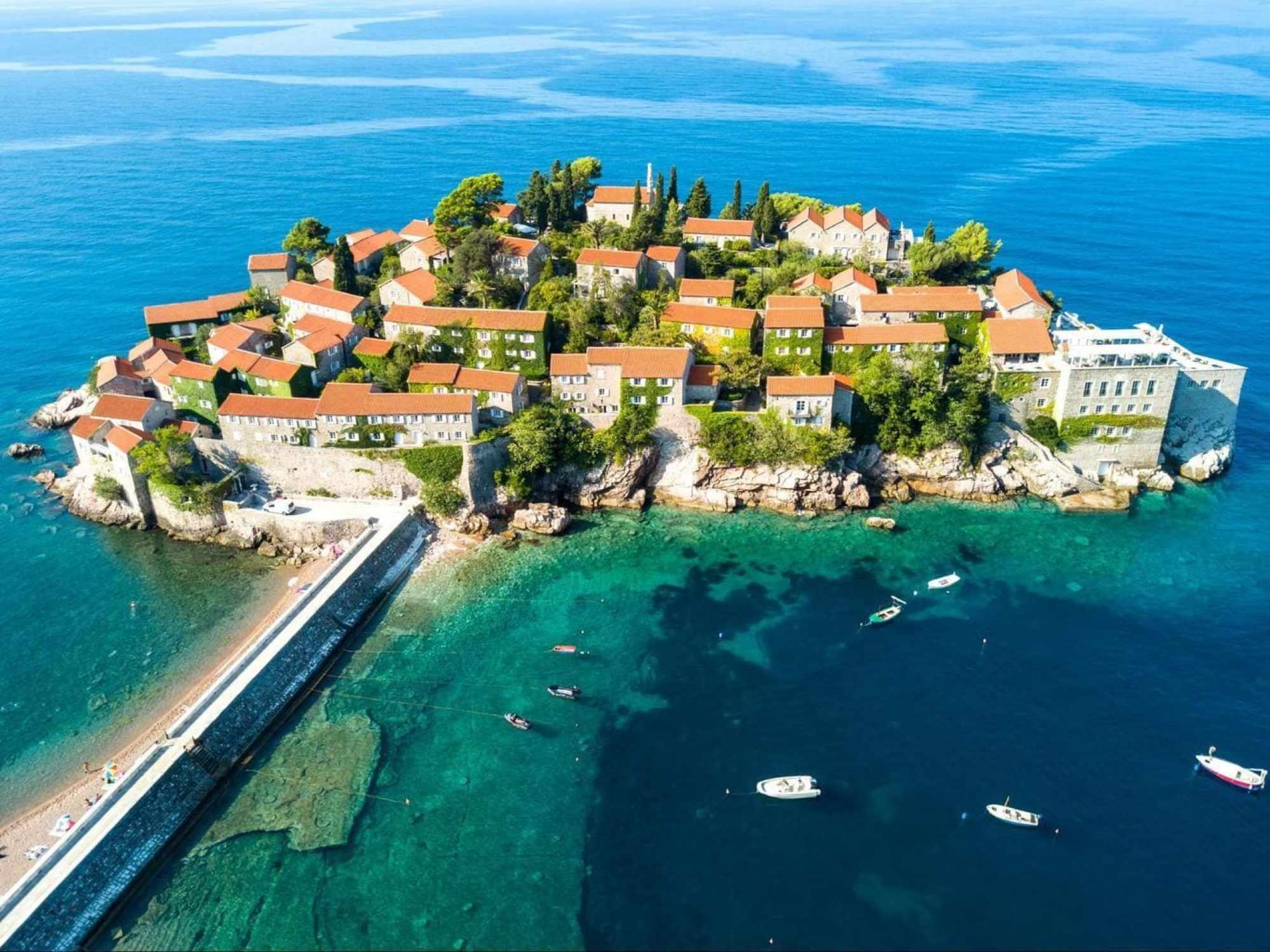 Montenegro's most famous landmark