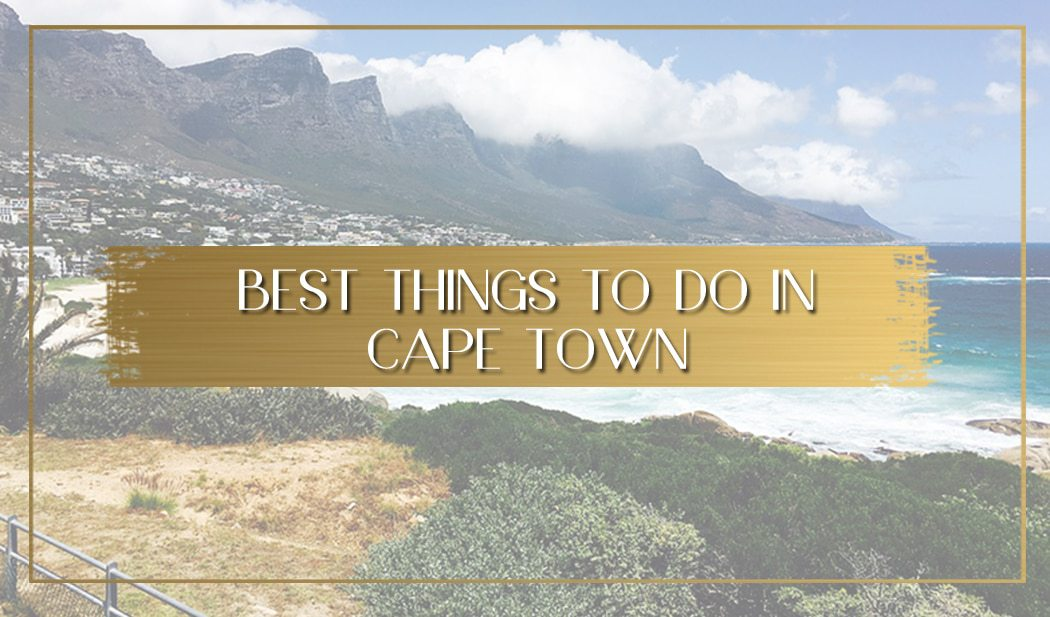Things to do in Cape Town main