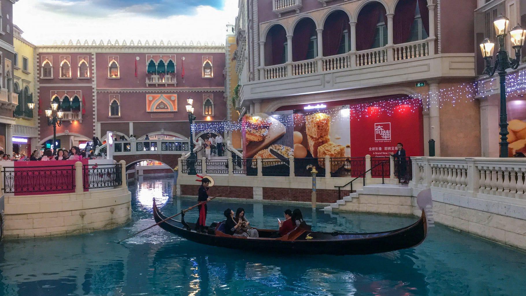 """""""Gondola at the Venetian Macau"""""""