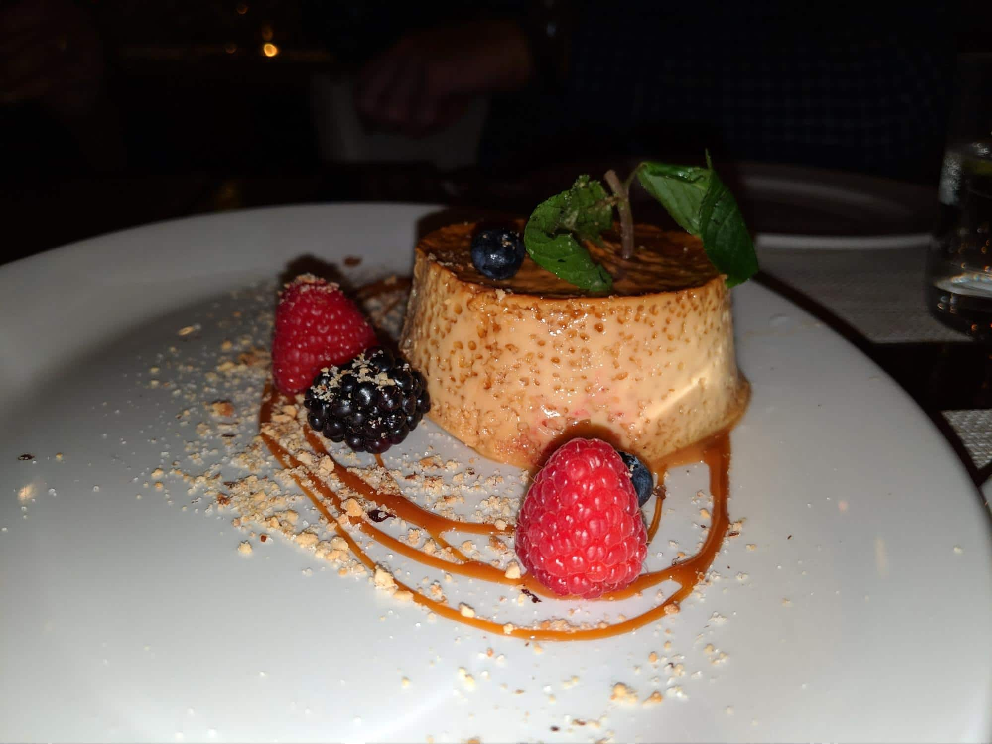 Flan is a egg yolk, milk and sugar treat topped with runny caramel sauce
