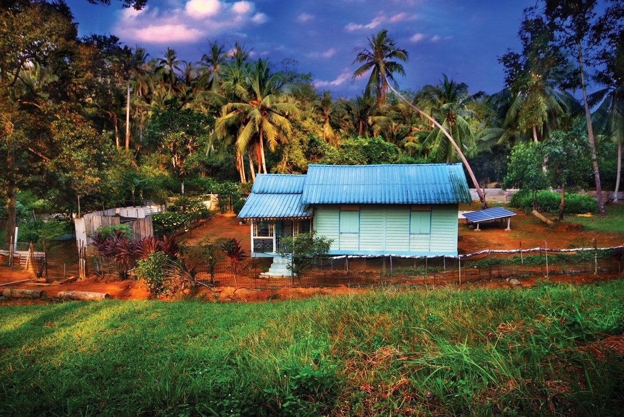 Kampong life in Pulau Ubin