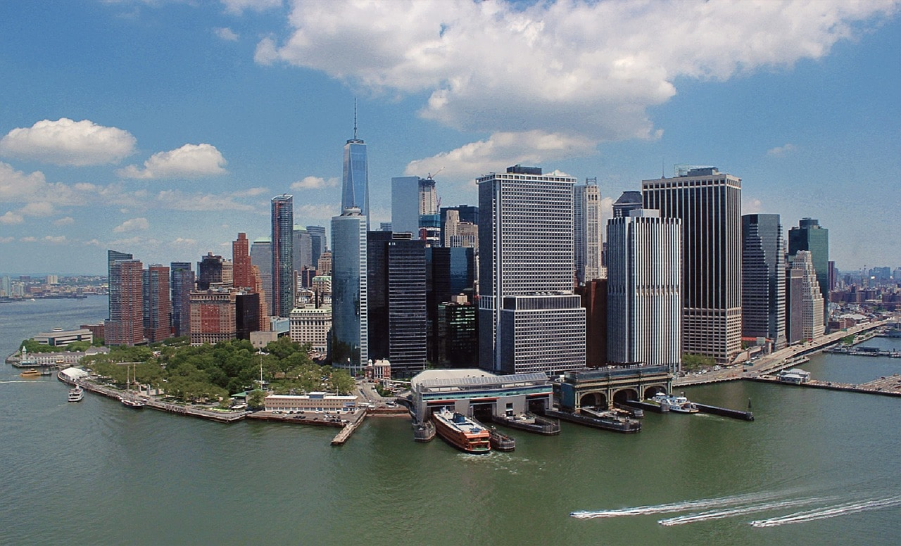 """""""New York City from the water"""""""