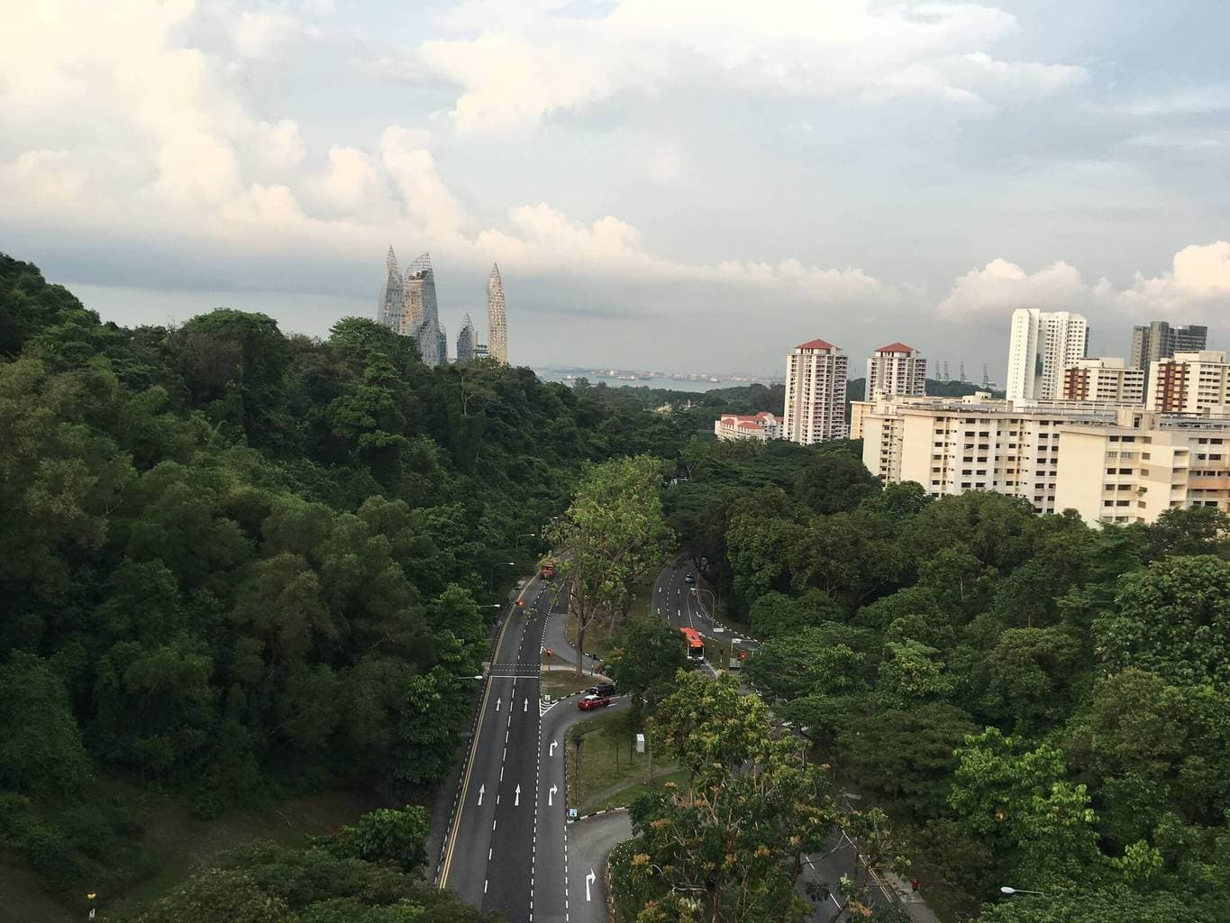 View from Henderson Waves
