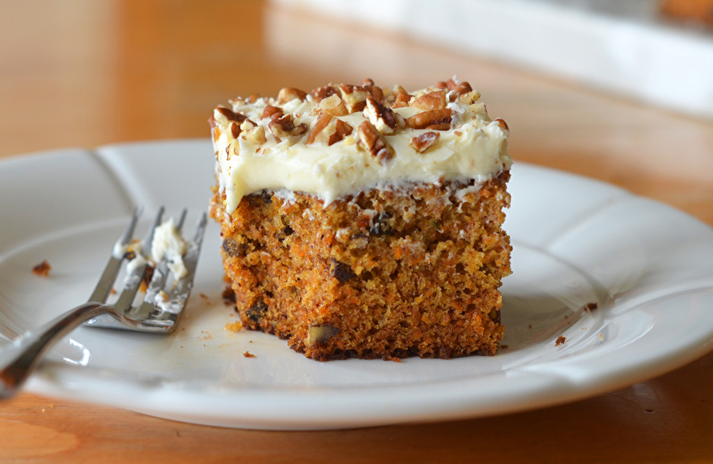 Classic Carrot Cake With Cream Cheese Frosting Once Upon