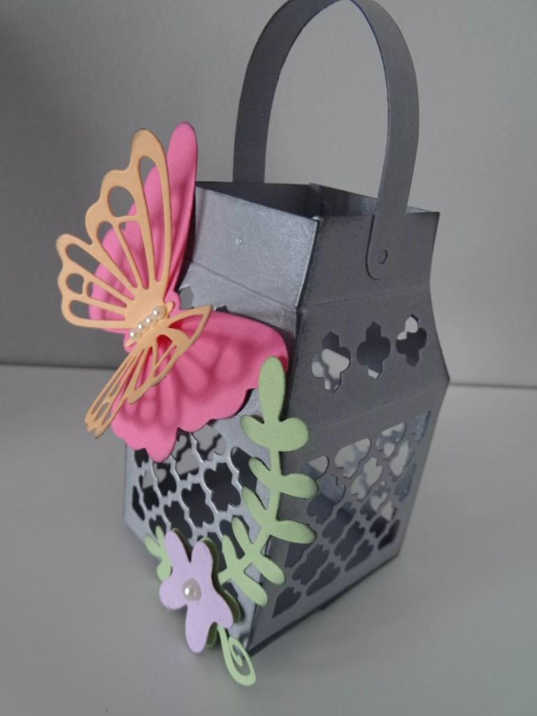 Butterfly Lantern Favour Box