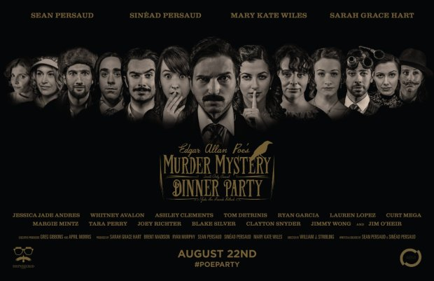 edgar allan poe s murder mystery dinner party